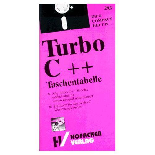 Uwe Fernengel - Turbo C++ Taschentabelle - Preis vom 16.05.2021 04:43:40 h