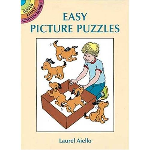 - Easy Picture Puzzles (Dover Little Activity Books) - Preis vom 19.06.2021 04:48:54 h