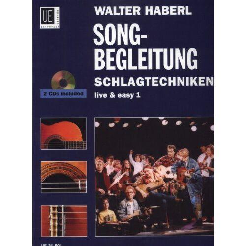 Haberl, Walter Ernst - Schlagtechniken, für Gitarre mit 2 Audio-CDs - Preis vom 14.06.2021 04:47:09 h