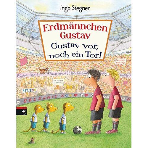 Ingo Siegner - Erdmännchen Gustav: Gustav vor, noch ein Tor (Die Erdmännchen Gustav-Bücher, Band 5) - Preis vom 24.07.2021 04:46:39 h