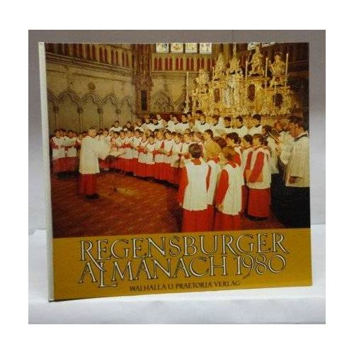 - Regensburger Almanach 1980 - Preis vom 17.06.2021 04:48:08 h