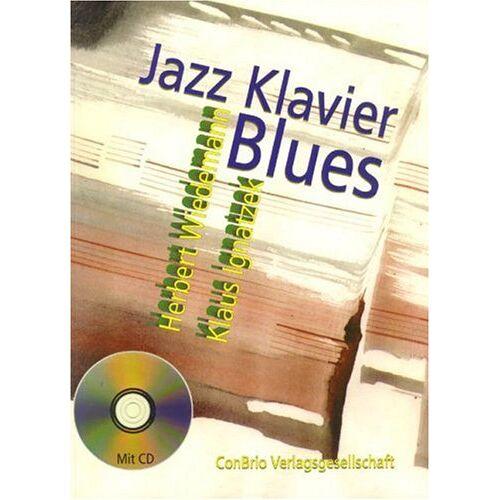 Herbert Wiedemann - Jazzklavier - Blues: Klavier. Ausgabe mit CD. - Preis vom 19.06.2021 04:48:54 h