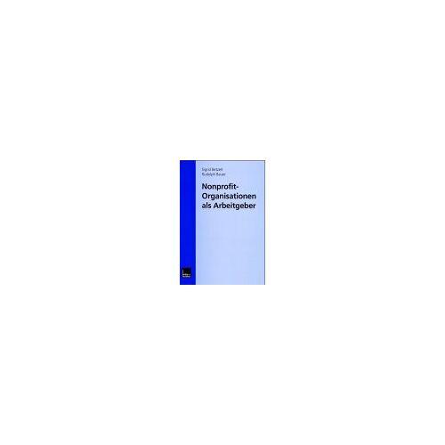 - Nonprofit-Organisationen als Arbeitgeber - Preis vom 17.05.2021 04:44:08 h