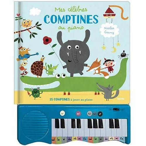 - Mes célèbres comptines au piano: 15 COMPTINES À JOUER AU PIANO (Livres piano) - Preis vom 22.06.2021 04:48:15 h