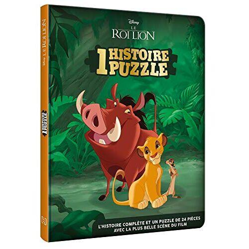 Collectif - LE ROI LION - Une Histoire, Un puzzle - L'histoire du film - 1 puzzle 24 pièces - Disney - Preis vom 19.06.2021 04:48:54 h