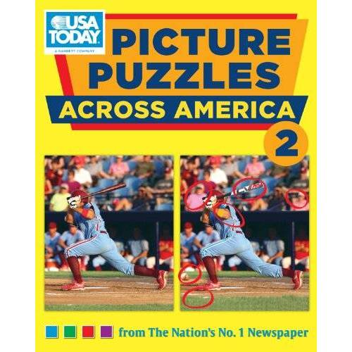 USA TODAY - USA TODAY Picture Puzzles Across America 2 (USA Today Puzzles) - Preis vom 11.10.2021 04:51:43 h