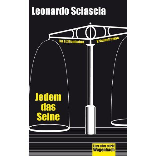 Leonardo Sciascia - Jedem das Seine - Preis vom 17.05.2021 04:44:08 h
