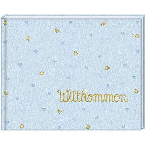 - Babyalbum - BabyGlück - Willkommen: Hellblau - Preis vom 22.07.2021 04:48:11 h