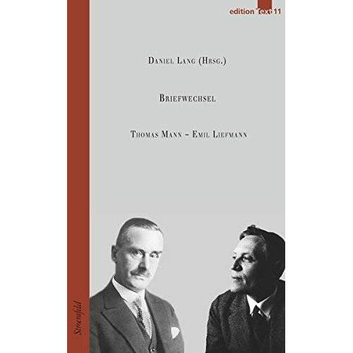 Thomas Mann - Emil Liefmann / Briefwechsel (Edition Text) - Preis vom 17.06.2021 04:48:08 h