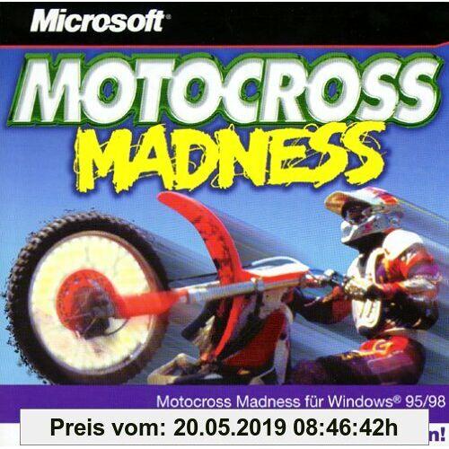 Motocross Madness. CD- ROM für Windows 95/98. Motocross Action vom Feinsten
