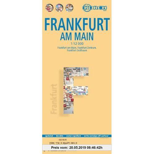 Frankfurt am Main 1 : 12 000: Frankfurt a. M. 1 : 12 000, Frankfurt Zentrum  1 : 8 250, Frankfurt Grossraum 1 : 110 000, Nahverkehrskarte RMV