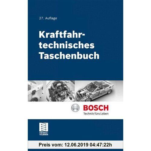 Konrad Reif Kraftfahrtechnisches Taschenbuch