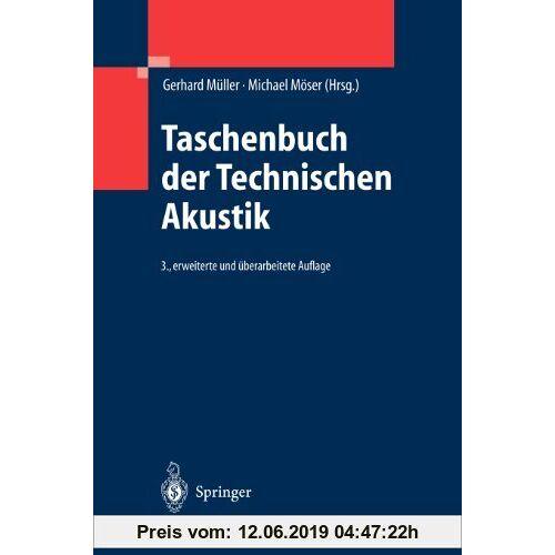 Gerhard Müller Taschenbuch der Technischen Akustik