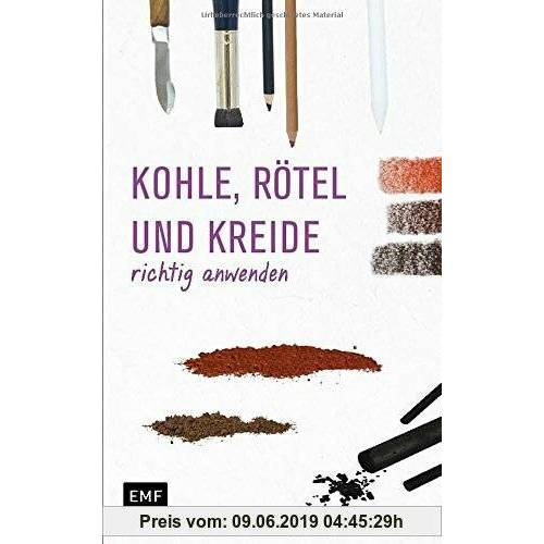 Anita Hörskens Grundlagenwerkstatt: Zeichenkohle, Rötel und Kreide richtig anwenden