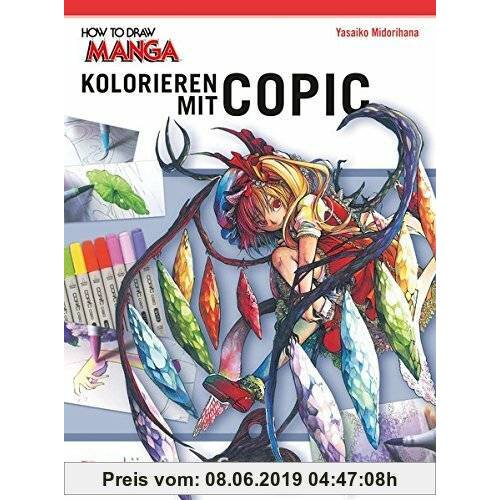 Midorihana Yasaiko Kolorieren mit Copic-Stiften (How To Draw Manga)