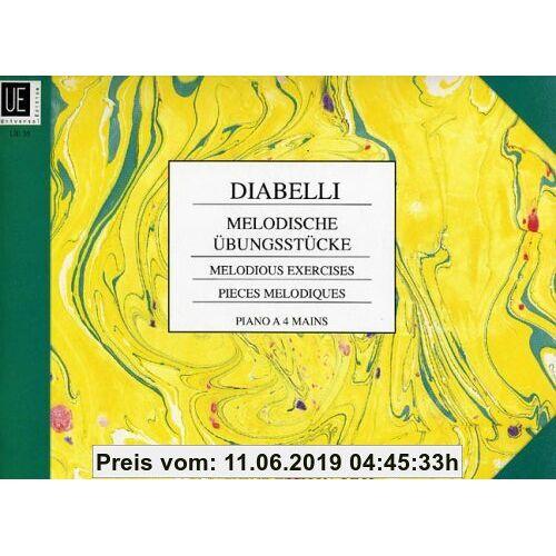 Melodische Uebungsstuecke Op 149. Piano zu 4 Händen