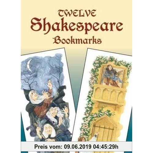 Twelve Shakespeare Bookmarks (Dover Bookmarks)