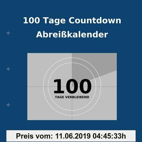Buy Countdown Calendar 100 Tage Countdown Abreißkalender