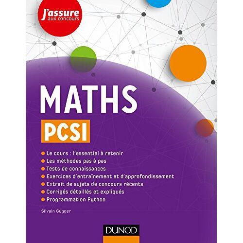 Sylvain Gugger - Maths PCSI - Preis vom 06.09.2020 04:54:28 h