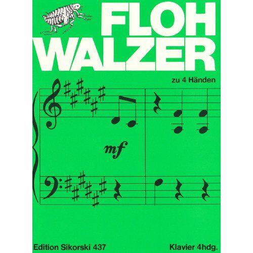 - Flohwalzer. Klavier zu 4 Händen - Preis vom 16.04.2021 04:54:32 h