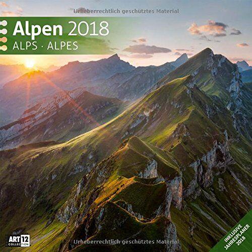 Ackermann Kunstverlag - Alpen 30x30 2018 - Preis vom 04.08.2019 06:11:31 h