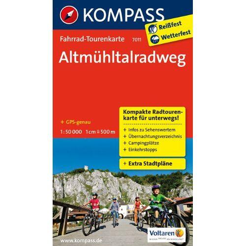- Altmühltalradweg: Fahrrad-Tourenkarte. GPS-genau. 1:50000. - Preis vom 16.04.2021 04:54:32 h