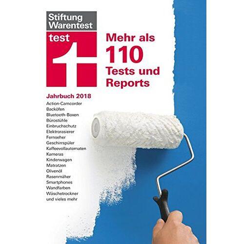 Stiftung Warentest - test Jahrbuch 2018: Mehr als 110 Tests und Reports - Preis vom 28.02.2021 06:03:40 h