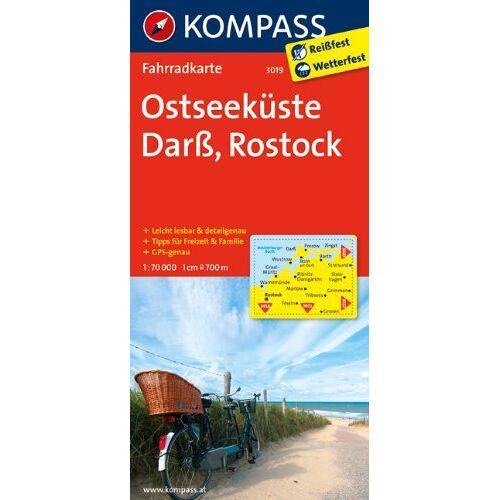 - Ostseeküste - Darß - Rostock: Fahrradkarte. GPS-genau. 1:70000 - Preis vom 04.09.2020 04:54:27 h