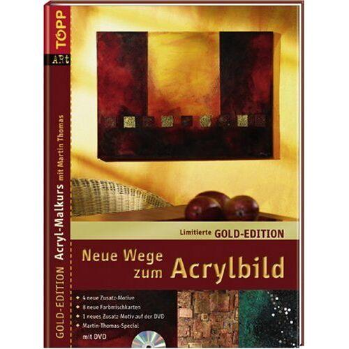Martin Thomas - Neue Wege zum Acrylbild, m. DVD (Gold-Edition) - Preis vom 17.01.2020 05:59:15 h
