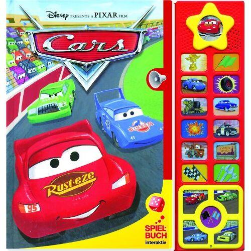 Disney Pixar - Disney PIXAR Cars - Spielbuch, Interaktiv, Buch mit Brettspiel und Klangleiste - Preis vom 17.10.2020 04:55:46 h