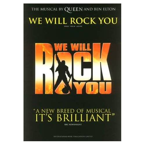 - Queen: We Will Rock You: Piano, Vocal, Guitar - Preis vom 19.01.2021 06:03:31 h