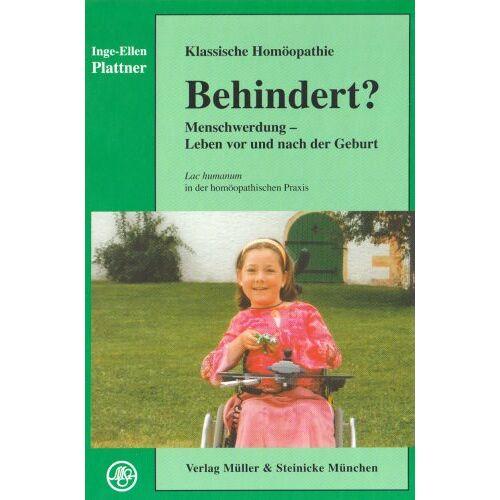 Inge-Ellen Plattner - Behindert? - Preis vom 14.05.2021 04:51:20 h