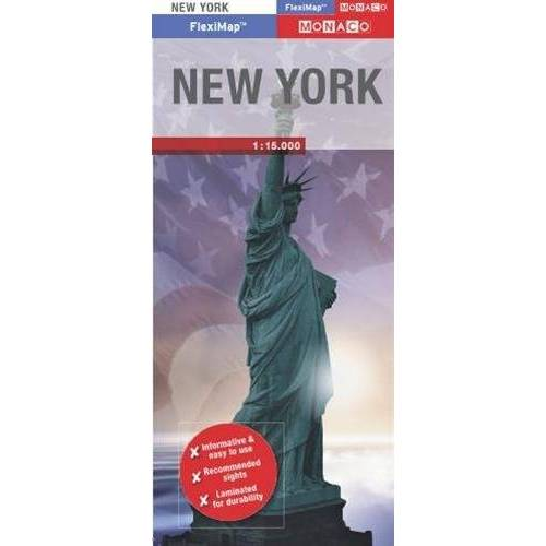 Monaco Books - Monaco Fleximap New York (Monaco Fleximaps) - Preis vom 17.01.2021 06:05:38 h