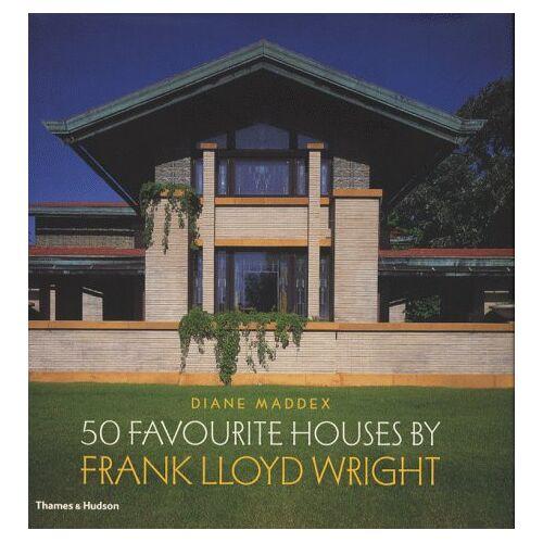 Diane Maddex - 50 Favourite Houses by Frank Lloyd Wright - Preis vom 19.10.2020 04:51:53 h