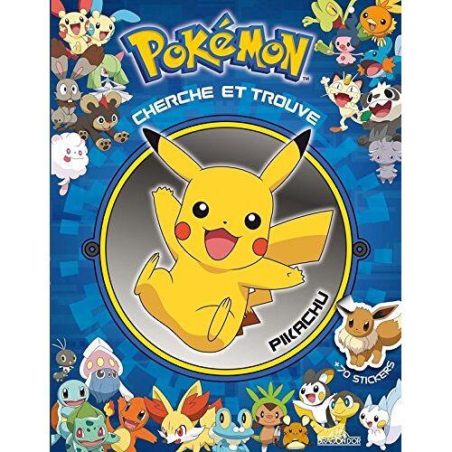 Dragon d'or - Pokémon : Cherche et trouve Pikachu : Avec 70 stickers - Preis vom 18.10.2020 04:52:00 h