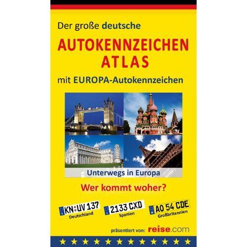 Manfred Klemann - Der große deutsche Autokennzeichen Atlas mit EUROPA-Autokennzeichen: Wer kommt woher? - Preis vom 20.10.2020 04:55:35 h