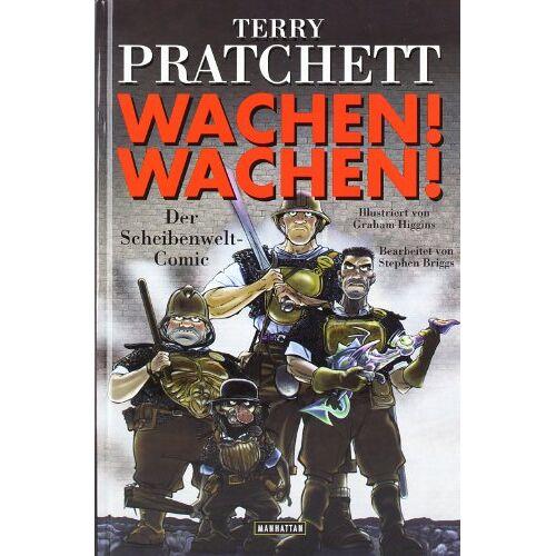 Terry Pratchett - Wachen! Wachen!: Der Scheibenwelt-Comic: Ein Scheibenwelt-Comic - Preis vom 10.04.2021 04:53:14 h