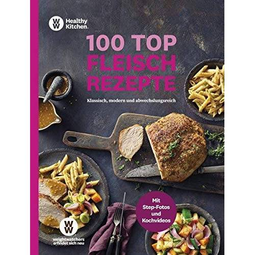 WW Deutschland - WW - 100 Top Fleischrezepte: Klassisch, modern und abwechslungsreich - Vielseitige Rezepte mit Fleisch - Preis vom 05.05.2021 04:54:13 h