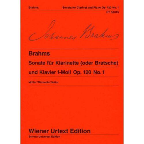 - Sonate F-Moll Op 120/1. Klarinette, Viola, Klavier - Preis vom 25.02.2021 06:08:03 h