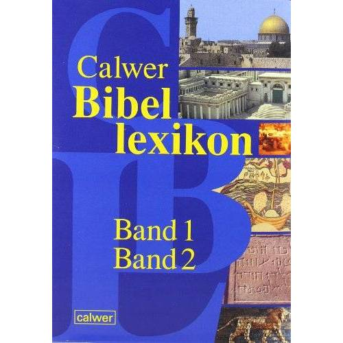 Otto Betz - Calwer Bibellexikon.Band 1 und 2: 2 Bände. - Preis vom 22.01.2021 05:57:24 h