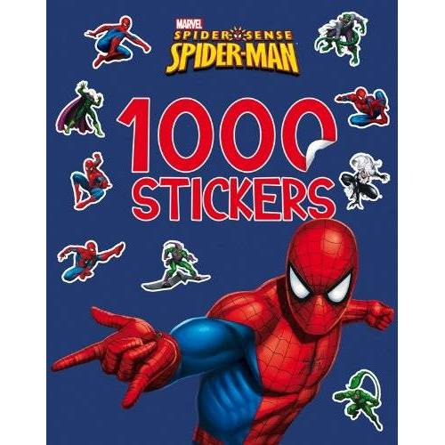 Marvel - Spider-Man, 1000 STICKERS - Preis vom 06.09.2020 04:54:28 h