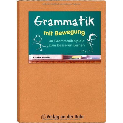 - Grammatik mit Bewegung: 30 Grammatik-Spiele zum besseren Lernen. Kl. 5- 8 - Preis vom 21.10.2019 05:04:40 h