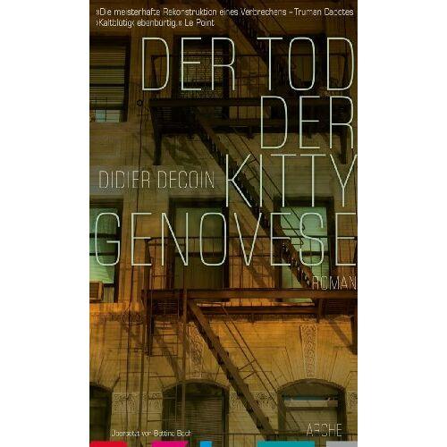Didier Decoin - Der Tod der Kitty Genovese - Preis vom 14.04.2021 04:53:30 h