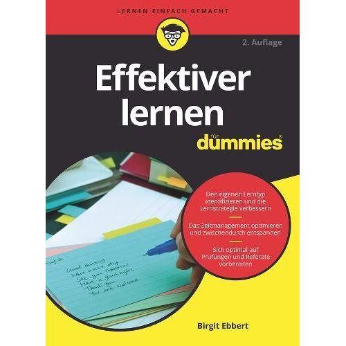 Birgit Ebbert - Effektiver Lernen für Dummies - Preis vom 15.04.2021 04:51:42 h