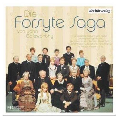 John Galsworthy - Die Forsyte Saga. 6 CDs. - Preis vom 28.02.2021 06:03:40 h
