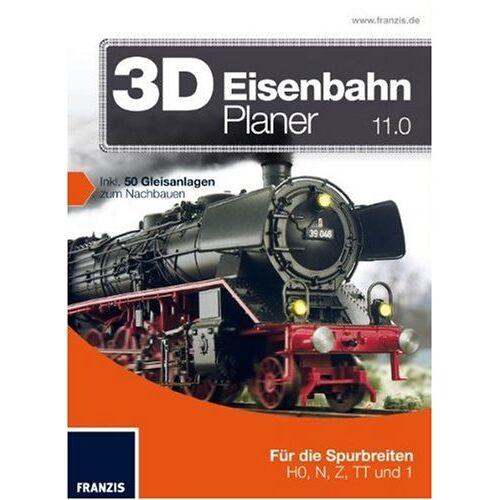 Franzis Verlag - 3D EisenbahnPlaner 11.0 - Preis vom 16.04.2021 04:54:32 h
