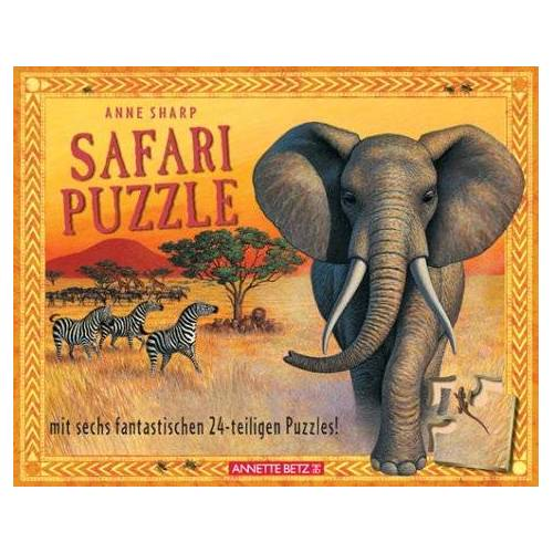 Anne Sharp - Safari Puzzle. Mit 6 Puzzles - Preis vom 19.01.2021 06:03:31 h