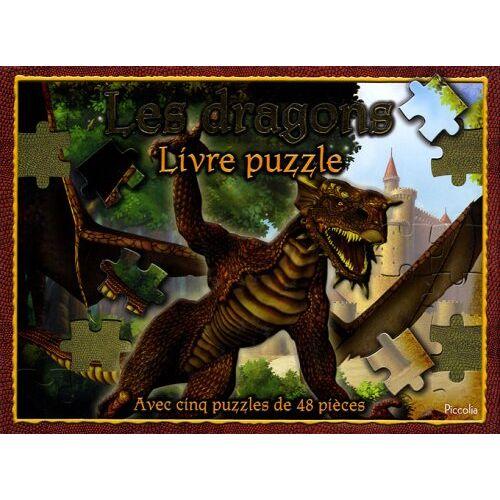 Piccolia - Les dragons : Livre puzzle - Preis vom 20.01.2021 06:06:08 h