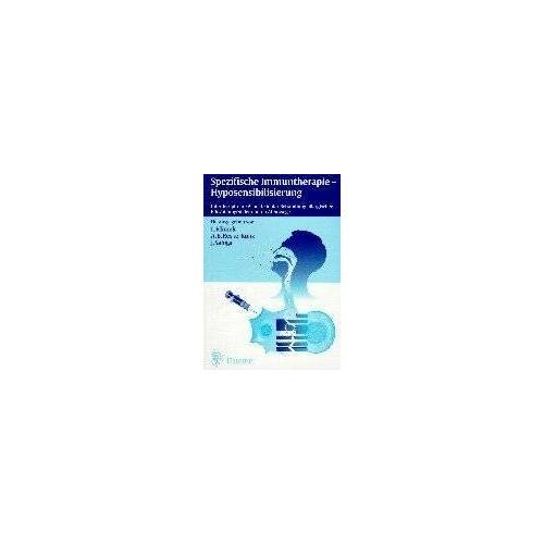 Ludger Klimek - Spezifische Immuntherapie, Hyposensibilisierung - Preis vom 24.02.2021 06:00:20 h