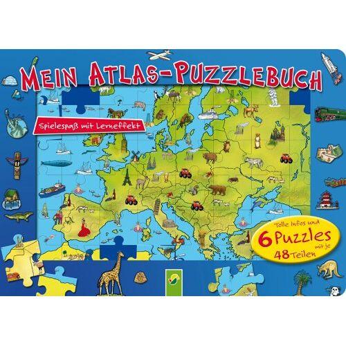 - Mein Atlas-Puzzlebuch - Preis vom 28.02.2021 06:03:40 h